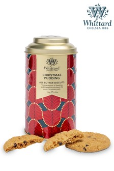 Whittard Of Chelsea All Butter Christmas Pudding Biscuits