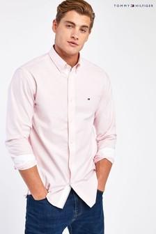 Tommy Hilfiger Pink Organic Oxford Shirt