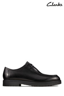 Clarks Black Ashcroft Seam Shoe