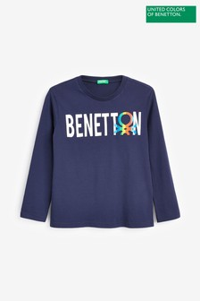 Benetton Navy Jumper