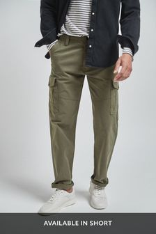Premium Laundered Cargo Trousers