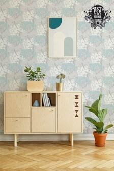 Art For The Home Blue Fresco Lykke Tree Wallpaper
