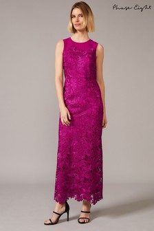 Phase Eight Pink Bessie Lace Maxi Dress