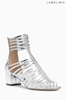 Mix/Osman Heeled Gladiator Sandal