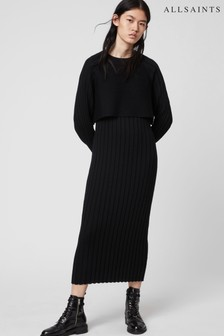 AllSaints Ribbed Tarun Jumper Dress