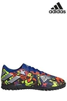 adidas Messi Blue Nemeziz P4 Junior & Youth Turf Football Boots