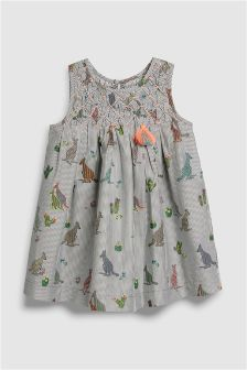 Kangaroo Print Dress (3mths-6yrs)