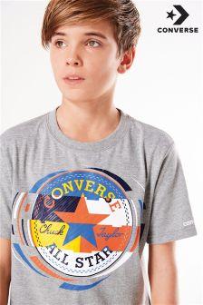 Converse Colourblock Chuck Logo T-Shirt