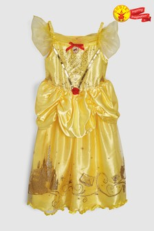 Rubies Yellow Belle Fancy Dress Costume
