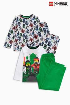 LEGO® Ninjago Pyjamas Two Pack (4-10yrs)