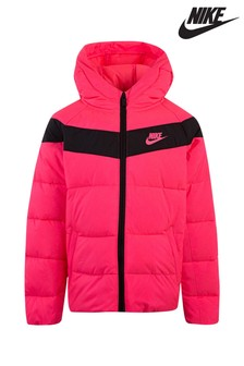 Nike Little Kids Pink Filled Jacket