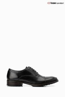 Chaussures à lacets Base London® Beckett noires