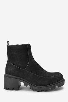 Forever Comfort® Chunky Cleat Ankle Boots