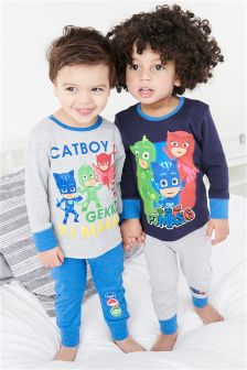 PJ Masks Pyjamas Two Pack (12mths-8yrs)