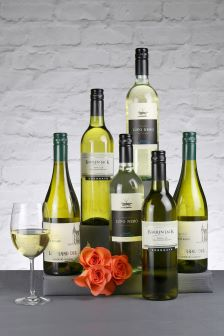 Set of 6 Chilling Whites Wine Selection