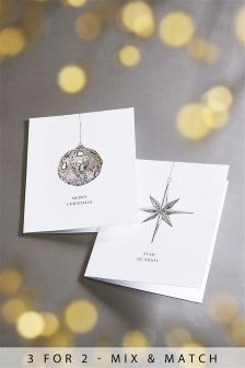12 Pack Photo Bauble Cards