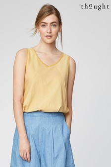 Thought Yellow Mellissa Vest Top