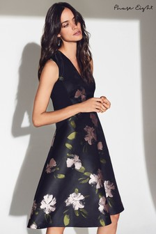Phase Eight Multi Sandy Floral Jacquard Dress