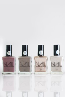 Set of 4 Nude Nail Polishes