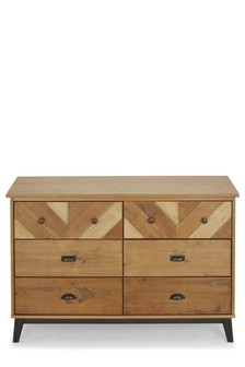 Hoxton 6 Drawer Wide Chest