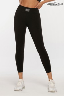 Lorna Jane Black Instinct Core Ankle Biter Leggings