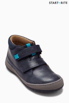 Темно-синие ботинки Start-Rite на гибкой подошве