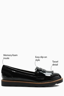 Chunky Fringe Loafers (Older)