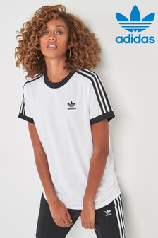 edced680cc Adidas Originals Tops For Women | Womens Stripe Tops | Next UK