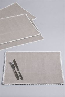 2 Pack Fabric Placemats