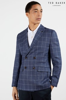 Ted Baker Oxal Windowpane Check Blazer