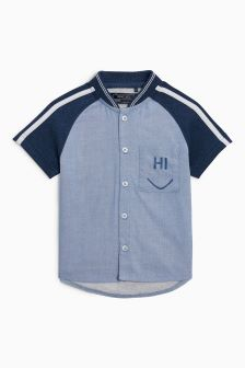 Baseball Neck Shirt (3mths-6yrs)