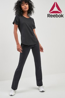 Reebok Black Boot Cut Tight