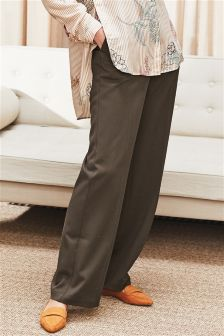 Twill Slouch Trousers