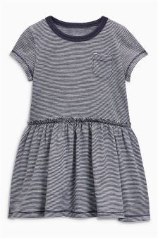 Short Sleeve Frill Dress (3mths-6yrs)