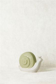 Ceramic Snail Sculpture
