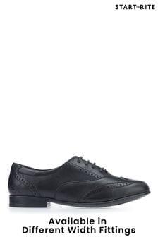 נעלי ברוג רשמיות של Start-Rite בשחור