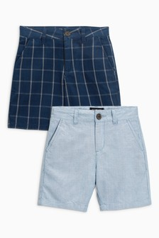 Smart Chino Shorts Two Pack (3-16yrs)