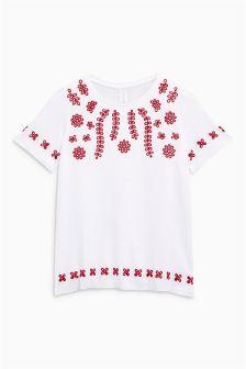 Broderie T-Shirt