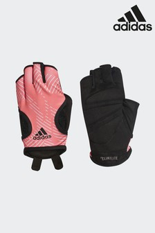 adidas Orange Graphic Climalite Gloves
