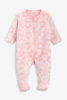 Флисовая пижама со звездами (0 мес. - 3 лет)