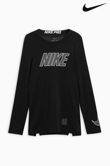 Nike Pro Black Long Sleeved Base Layer