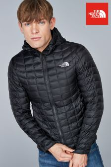 The North Face® Black Thermoball Hooded Jacket