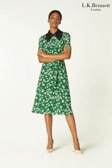 L.K.Bennett Green Haskell Dress