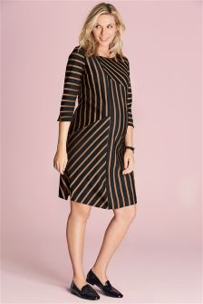 Maternity Striped Dress