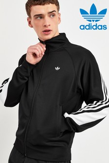 adidas Originals Black Wrap 3 Stripe Track Top