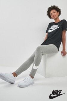 Nike Grey Club Logo Leggings