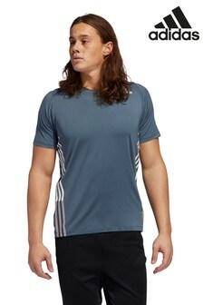adidas Freelift 3 Stripe Training T-Shirt