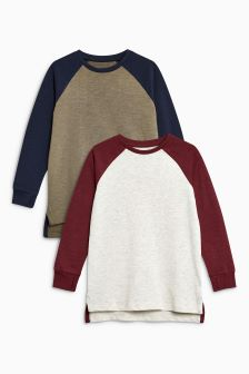 Raglan Tops Two Pack (3-16yrs)