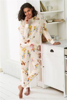 Floral Ruffle Pyjamas