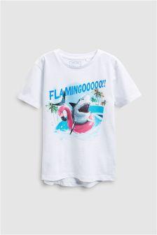 Flamingoooo T-Shirt (3-16yrs)